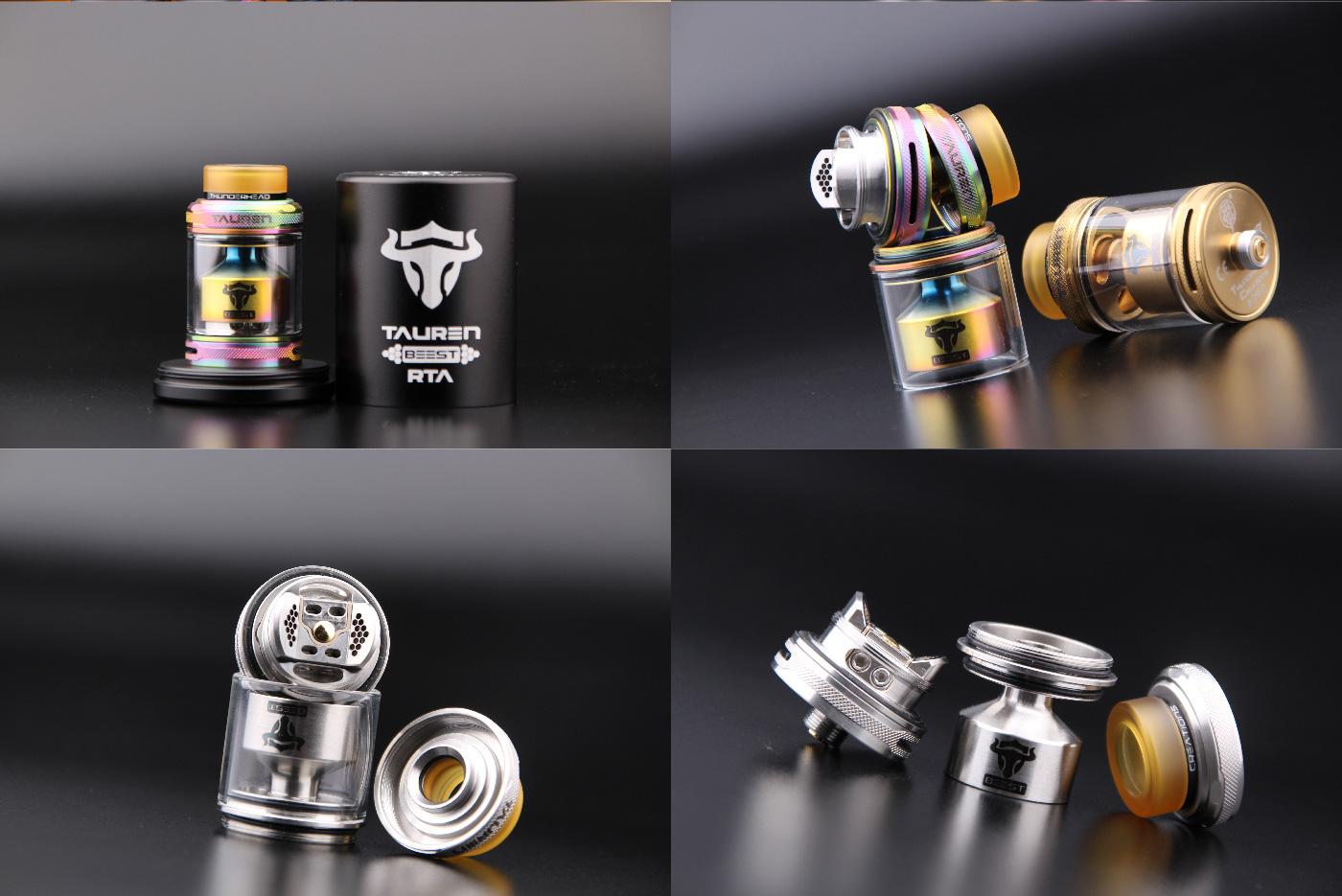 6c5520d3422cf1268c9f4063d0eebcf2 Thunder Head Creations Tauren RTA 2ml / 4.5ml Xsmokers