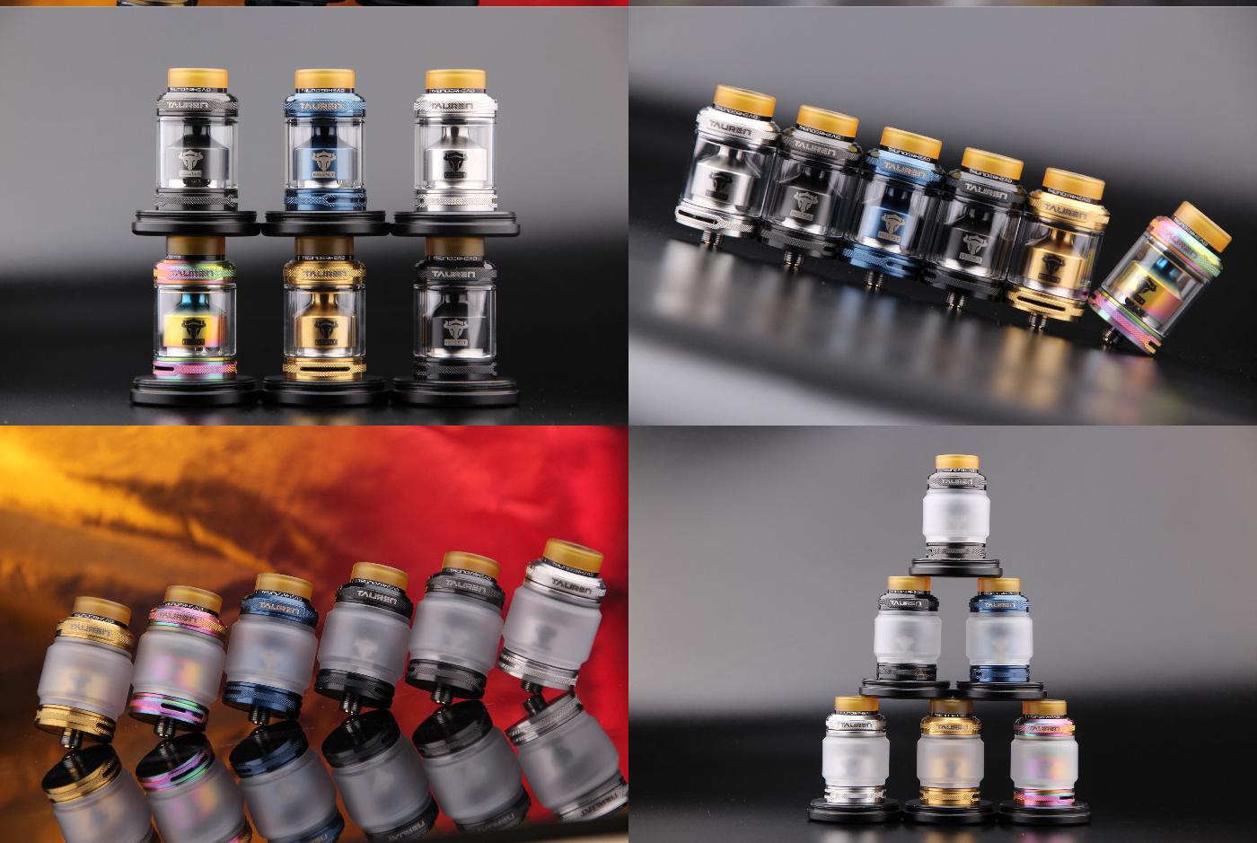 cd2f77580af1d3178f9bb4c84303da38 Thunder Head Creations Tauren RTA 2ml / 4.5ml Xsmokers